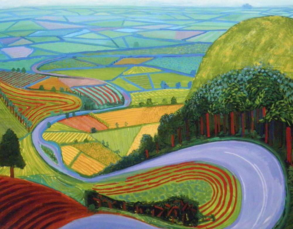 david-hockney-garrowby-hill-yorkshire-1998